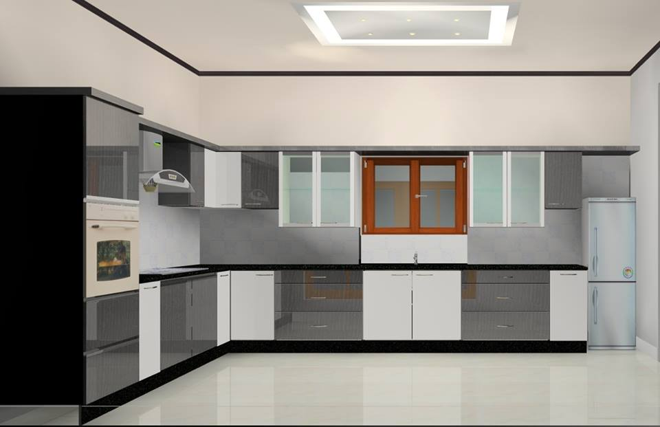Front Elevation With Granite : The gallery for gt kitchen elevation drawing